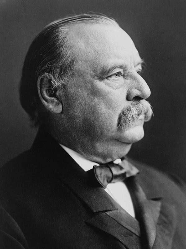 グロバー・クリーブランド(1837~1908)