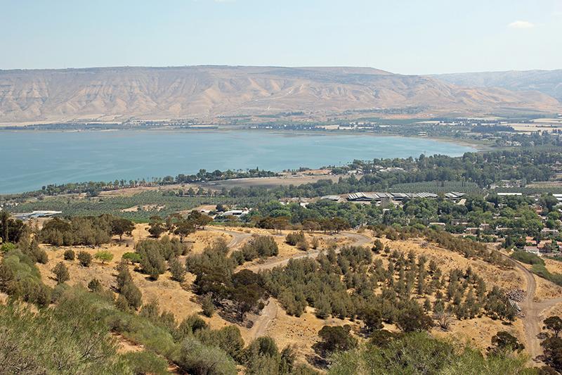 イスラエル北部にあるガリラヤ湖(写真:Eduard Marmet)