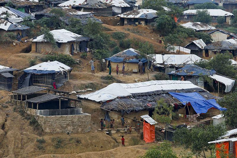 バングラデシュのロヒンギャ難民キャンプ=10月31日(写真:欧州委員会人道援助・市民保護総局)