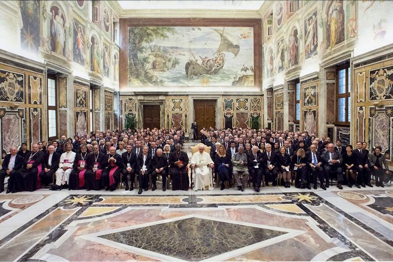 バチカン(ローマ教皇庁)で開催された核兵器廃絶と軍縮をテーマにした国際シンポジウム © L'Osservatore Romano