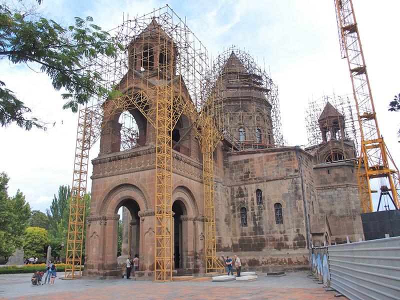 FINE ROAD(62)コーカサス3国アルメニア教会シリーズ①エチミアジン大聖堂 西村晴道