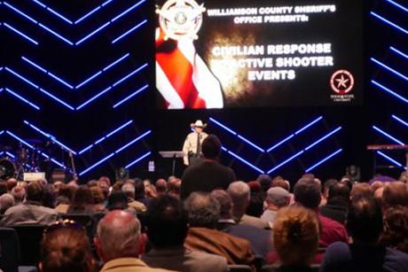 米テキサス州ウィリアムソン郡保安官事務所が主催したセキュリティーサミットの様子(写真:同事務所)