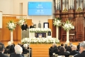 「絶対に走り抜けられる」と天から応援の声が 小林高徳TCU学長の葬儀に850人が参列