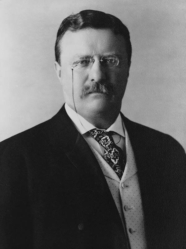 セオドア・ルーズベルト(1858~1919)
