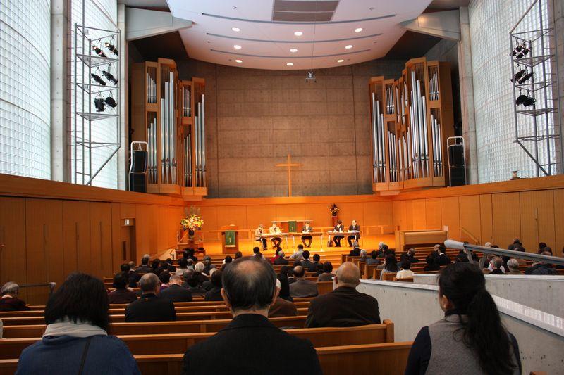 説教塾開設30周年記念公開プログラム(2)伝道派遣礼拝
