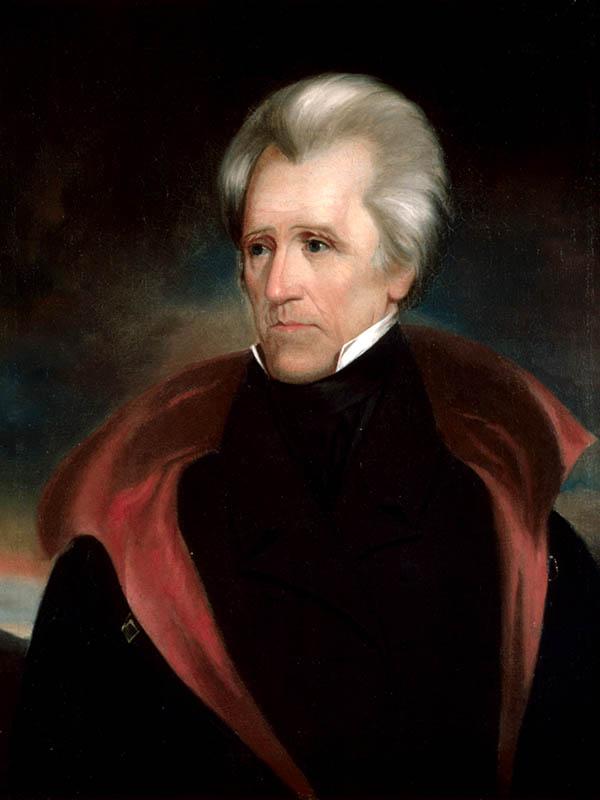アンドリュー・ジャクソン(1767~1845)