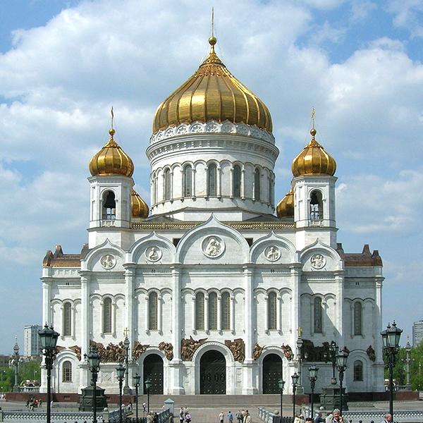 モスクワにあるロシア正教会の救世主ハリストス大聖堂(写真:Voytek s)