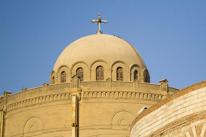 エジプトの首都カイロにあるコプト正教会の会堂(写真:kin0be)