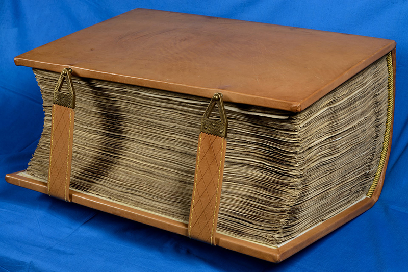 現存する世界最古のラテン語聖書「アミアティヌス写本」(写真:ロレンツォ・メディチ図書館)