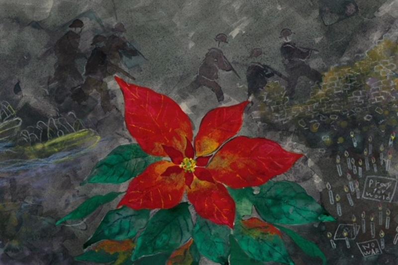 クリスマス休戦で贈られた種が花咲くように 「光のコンサート」中野パークサイドチャーチで