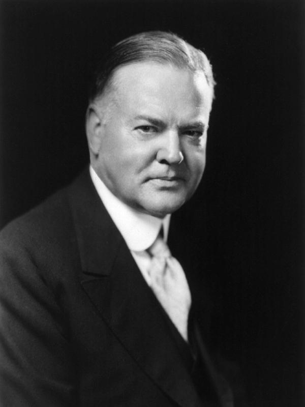 ハーバート・フーヴァー(1874~1964)