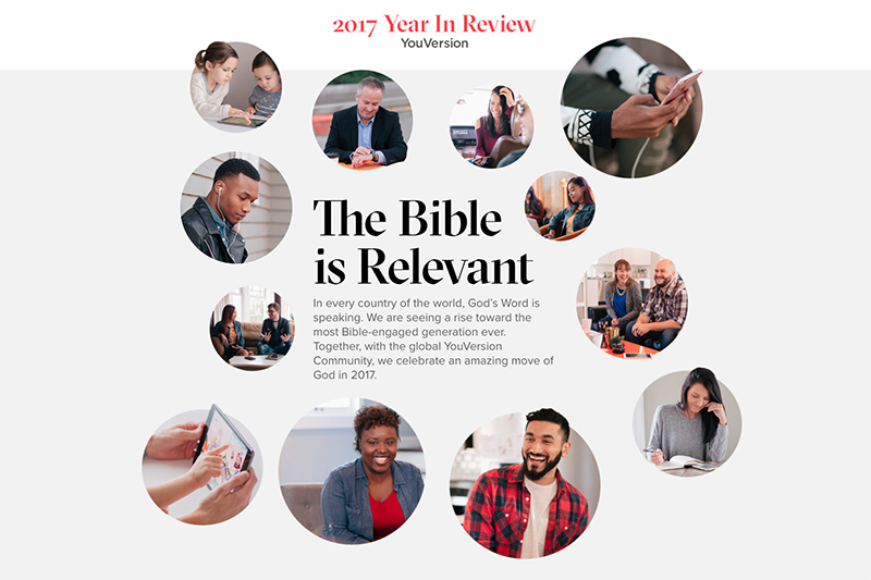 聖書アプリ「YouVersion(ユーバージョン)」のサイトより