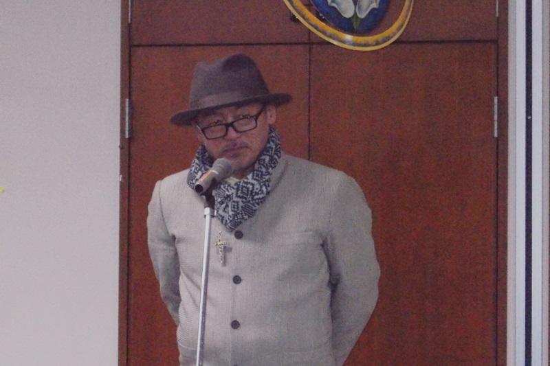 田代まさしさん。現在は「日本ダルク」でリハビリを行いながら、全国各地で講演も=9日、日本福音ルーテル東京教会(東京都新宿区)で