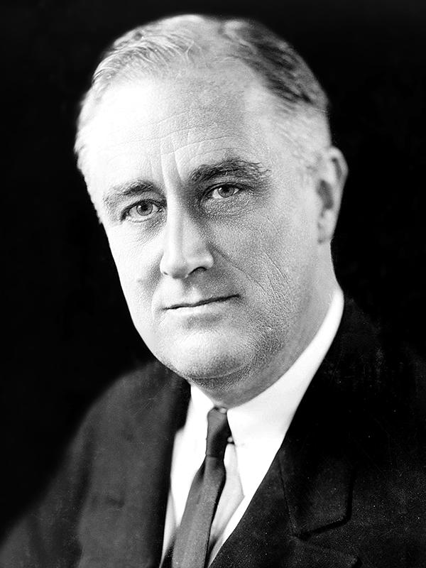 フランクリン・ルーズベルト(1882~1945)