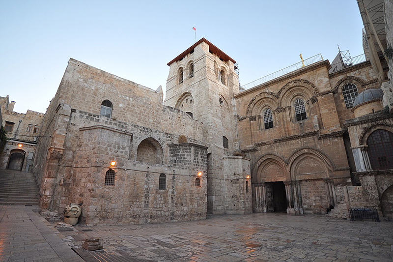 エルサレム旧市街にある聖墳墓教会(写真:Jlascar)