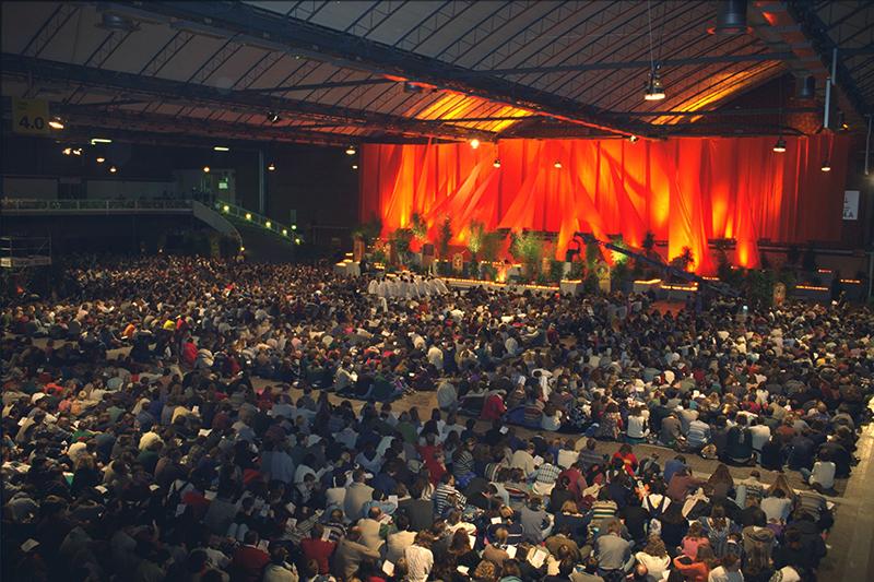 テゼ共同体の欧州青年大会の様子。写真は過去のもの。(写真:テゼ共同体)