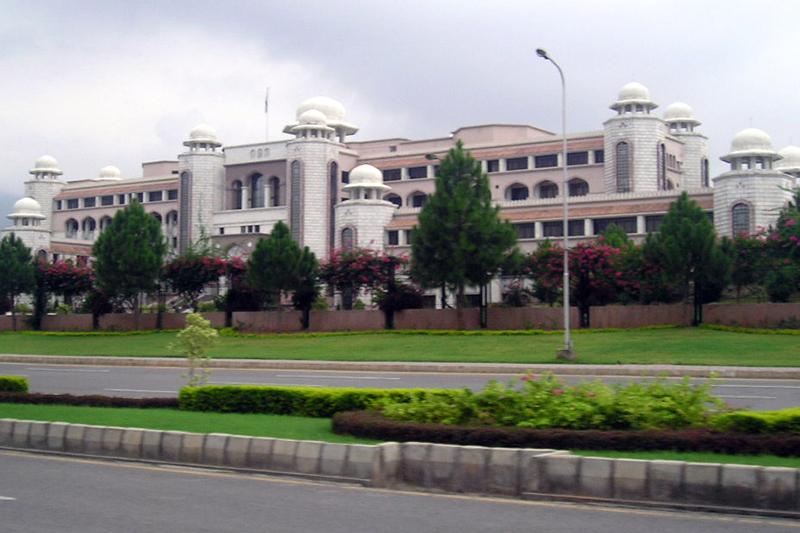 パキスタンの首相官邸(写真:Shubert Ciencia)