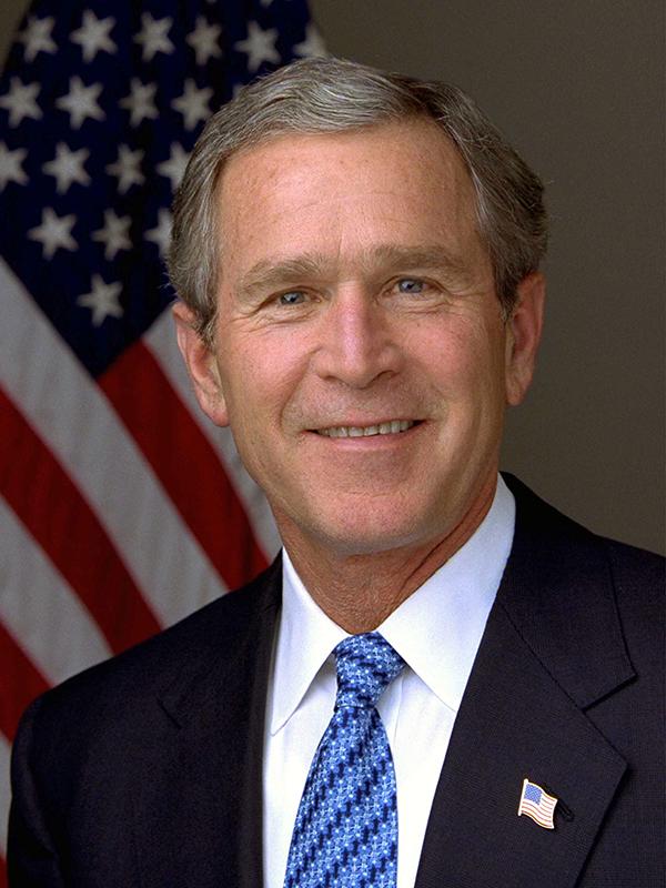 ジョージ・W・ブッシュ氏