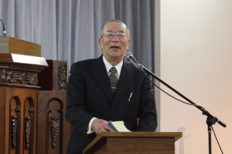 「再臨を待ち望み、到来を早めなければ」 断食祈祷聖会第20回記念大会で竿代照夫氏が講演