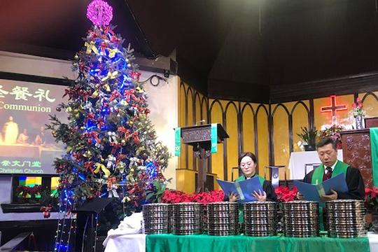 世界教会協議会(WCC)の代表団が訪れた北京の崇文門(チョンウェンメン)教会。中国で最も古いプロテスタント教会の1つ。(写真:WCC)
