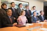 ノーベル平和賞受賞のICAN事務局長、日本の宗教者らと懇談 日本聖公会総主事も同席