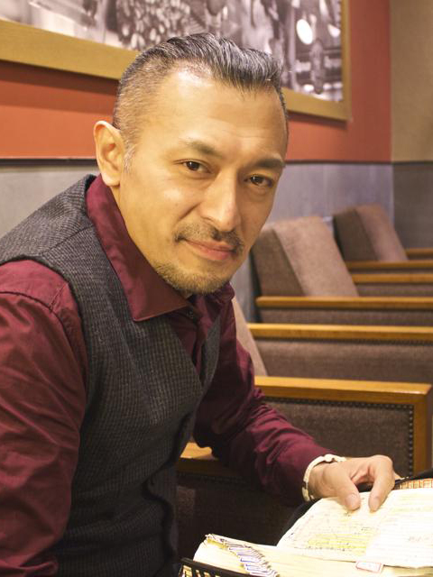 進藤龍也牧師。牧師になって間もないころに実父を自死で亡くし、それから十数年たった昨年3月には20歳になったばかりの娘を同じく自死で亡くした。