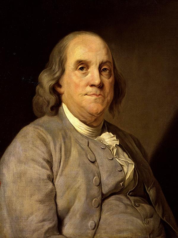 ベンジャミン・フランクリン(1706~90)