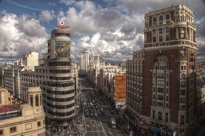 スペインの首都マドリード市内の様子=2010年5月12日(写真:Felipe Gabaldon)