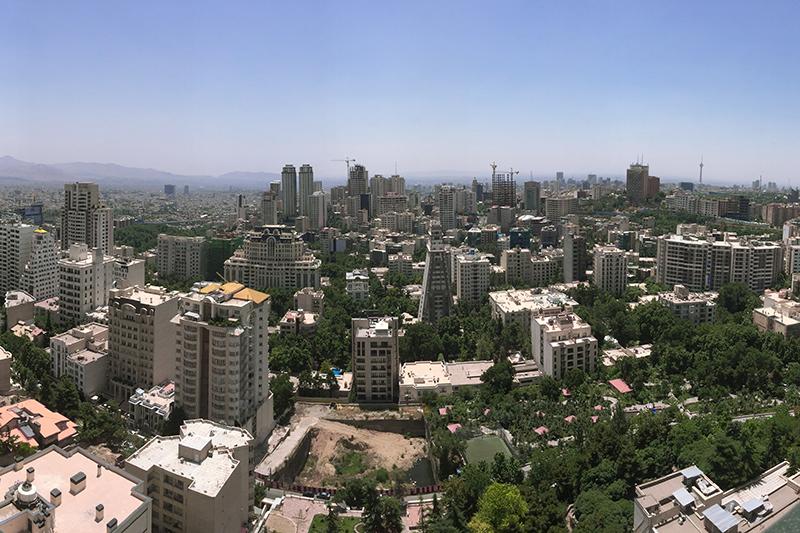 イランの首都テヘラン市内の様子=2016年(写真:Saman Marzban)