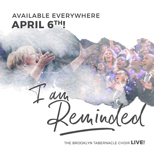 4月6日にリリースされる30枚目のアルバム「I Am Reminded」(写真:ブルックリン・タバナクル・クアイアのフェイスブックより)