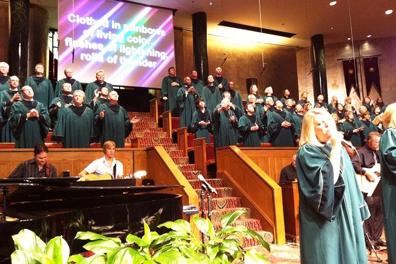 ナッシュビルからの愛に触れられて(17)クライストチャーチの礼拝に出席! 青木保憲