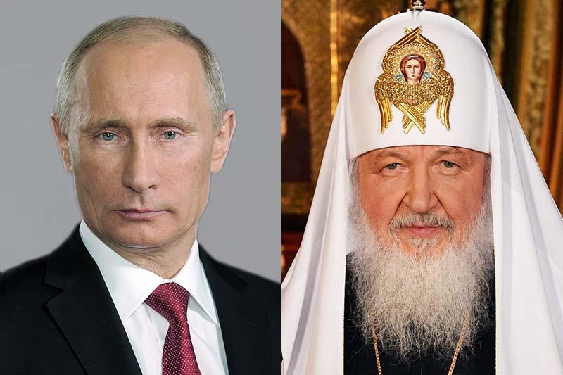 「イスラム国」、ロシア正教会総主教とプーチン露大統領を標的に