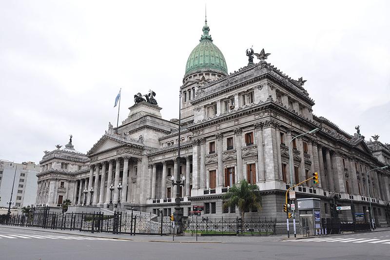 アルゼンチンの国会議事堂(写真:Jorge Lascar)