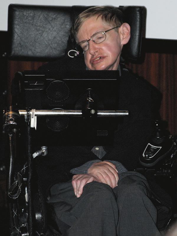 スティーブン・ホーキング博士=2006年(写真:Qz10)