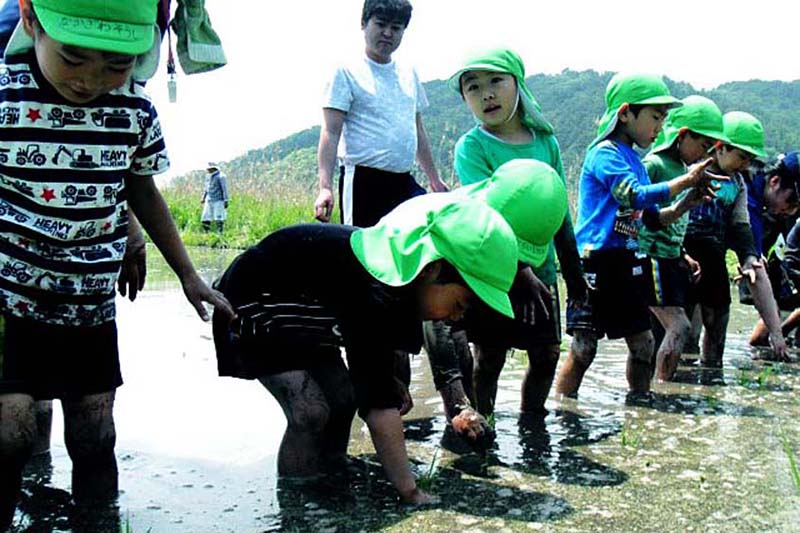 「被災地の人々と共に生きる」 神戸国際支縁機構が83回目の訪問、被災地の幼稚園で餅つき大会
