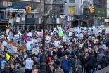 キング牧師の孫娘が演説「私には夢がある」 銃規制求め数十万人が「命の行進」