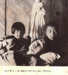 永井隆博士と2人の子どもたち