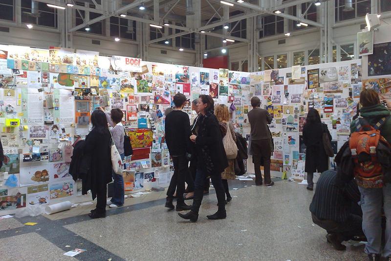 2009年のボローニャ国際児童図書展の様子(写真:Conor)