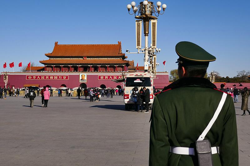 中国の首都・北京にある天安門広場(写真:Guarding TianAnMen)