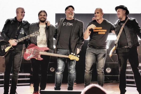 男性5人組のクリスチャン・バンド「マーシーミー(MercyMe)」(写真:マーシーミーのインスタグラムより)