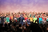 GOSMACアカデミー初の合同ゴスペルライブ 会場が満席となる盛り上がり