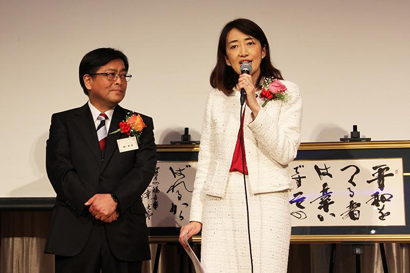 教派超え政界と平和のために祈る 山川百合子氏・瀬戸健一郎氏を囲むピースメーカーズ・フォーラム