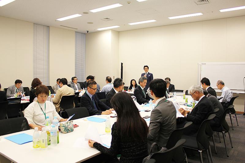 2018年度の事業計画を承認した日本CBMCの総会=5月30日、衆院第1議員会館(東京都千代田区)で