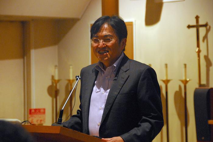 立教学院の西原廉太副院長=2015年