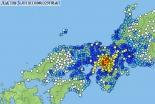 大阪で震度6弱の地震、教会事務所でエレベーター停止 国際飢餓「余震への心備えを」
