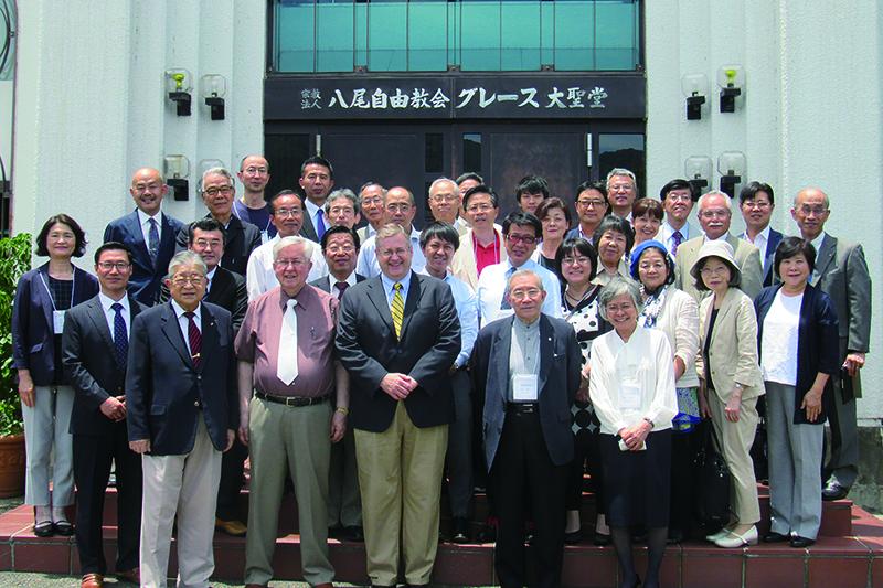 第8回オルフォード講解説教セミナーの参加者ら(写真:スティーブン・オルフォード講解説教神学院日本校提供)