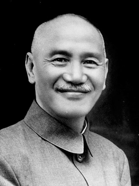 蒋介石(写真:中華民國總統府・總統玉照由國史館 )