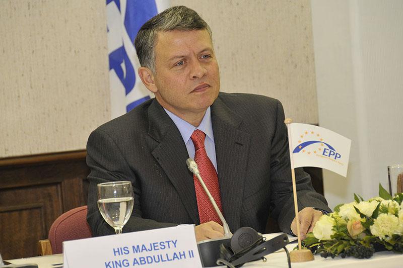 ヨルダン国王のアブドラ2世=2010年(写真:European People's Party)<br />
