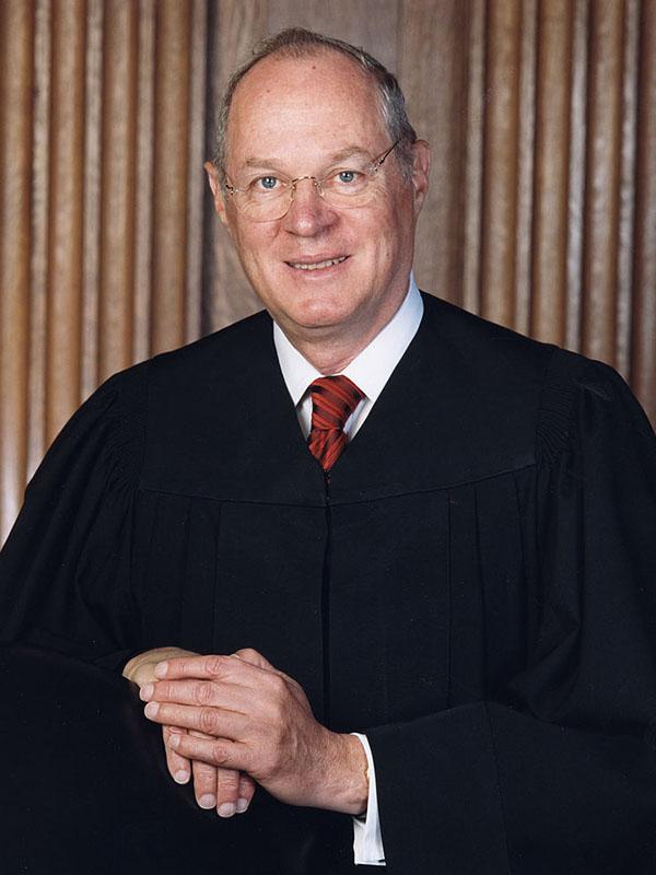 今年7月末での引退を表明した米連邦最高裁のアンソニー・ケネディ判事(写真:米連邦最高裁)