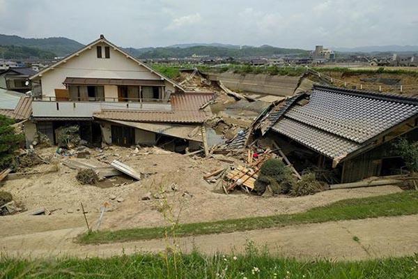 「かなり広範囲にわたる被害」 国際飢餓スタッフが岐阜、岡山の被災状況を報告
